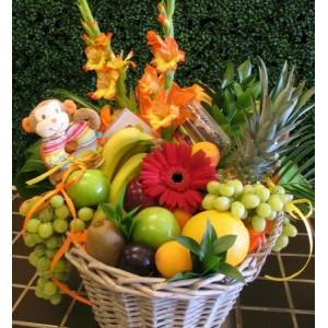 Panier de Fruit-Fleurs