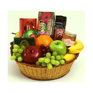 Panier choco-fruits