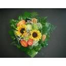 Bouquet avec tournesols