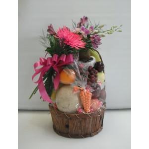 Panier Choco-Fleurs