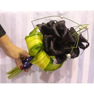 Bouquet de callas mauves