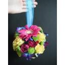 Boule en fleurs