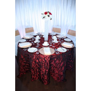 Nappe rouge (satin)