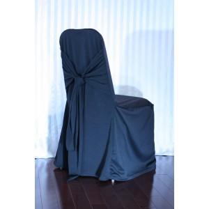 Couvre-chaise noir